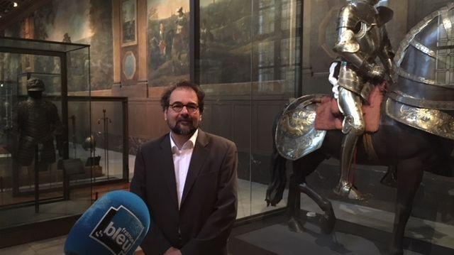 Avec Olivier Renaudeau, Conservateur en chef du Patrimoine et Responsable du Département ancien