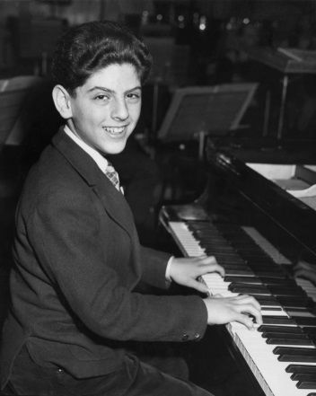 Daniel Barenboïm en 1956