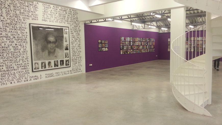 Deux artistes contemporains se partagent le Transpalette, centre d'art contemporain de Bourges.