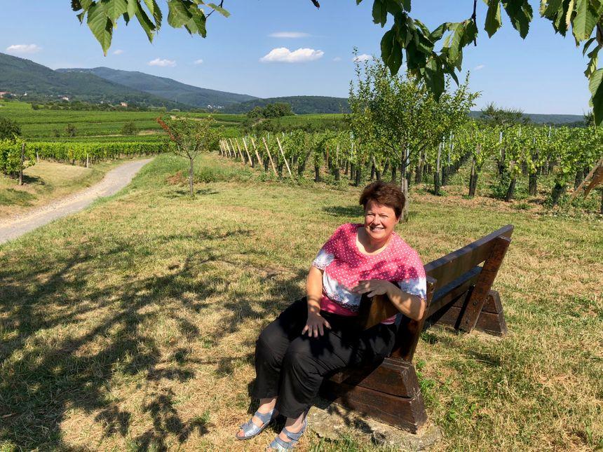 Martine Motz, viticultrice