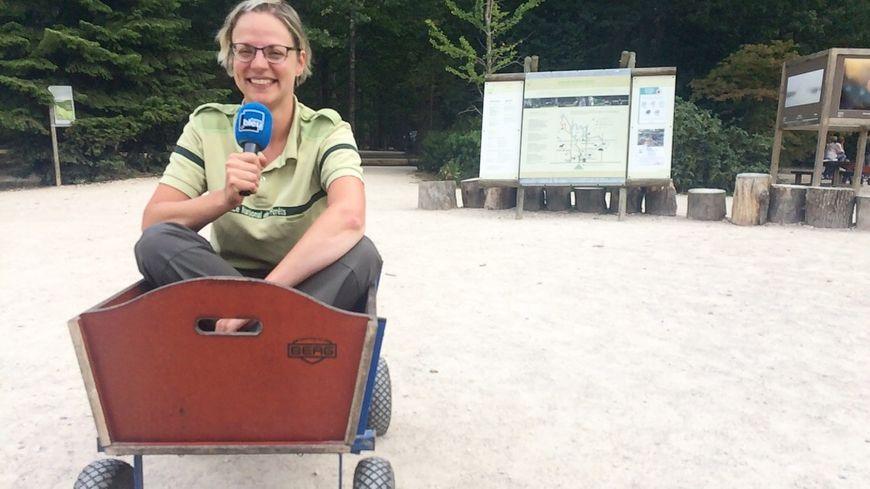 Céline, Responsable Pédagogique de l'Espace Rambouillet