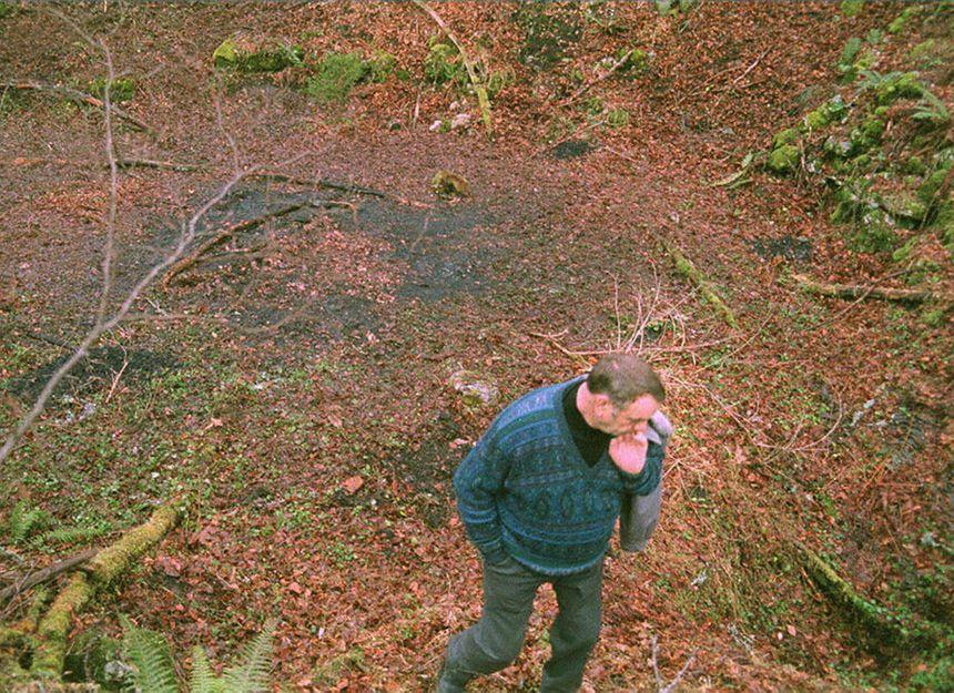 """Le """"trou de l'enfer"""", dans le Vercors (Isère) là où les corps des adeptes ont été retrouvés."""