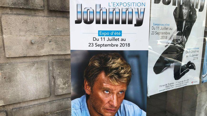 """L'exposition """"Johnny"""" à Paris"""
