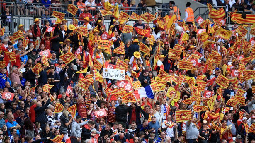 Dragons Catalans à Wembley