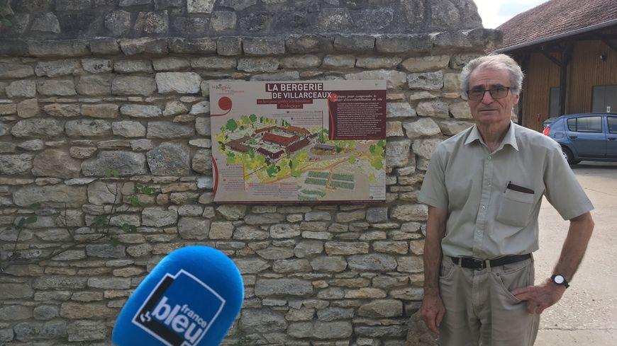 Paul Dehay, Président de l'ecosite de la Bergerie de Villarceaux