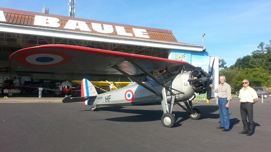 Le Morane Saulnier 137 et ses deux pilotes