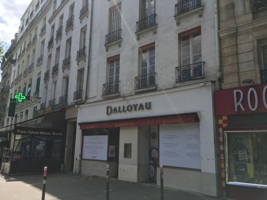 KFC prévoit de transformer le premier étage en salle de restauration de 40 places. - Radio France