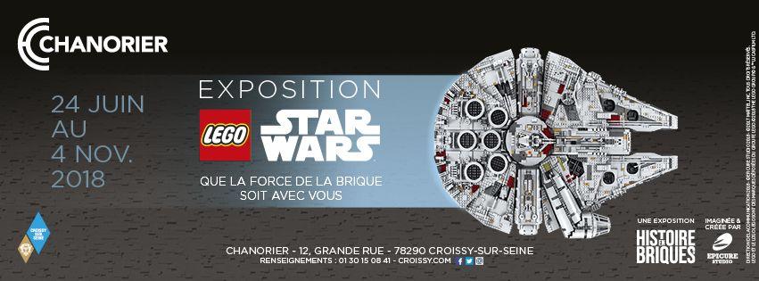 Expo Star Wars à l'Espace Chanorier jusqu'au 4 Novembre 2018.