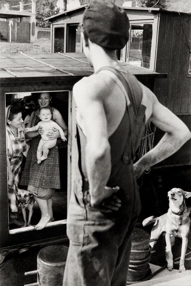 L'écluse de Bougival d'Henri Cartier Bresson