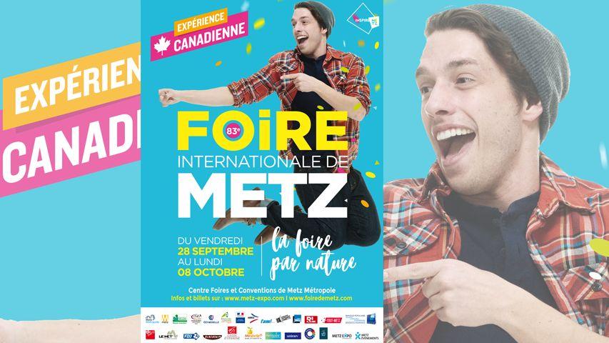 Affiche Foire Internationale de Metz 2018