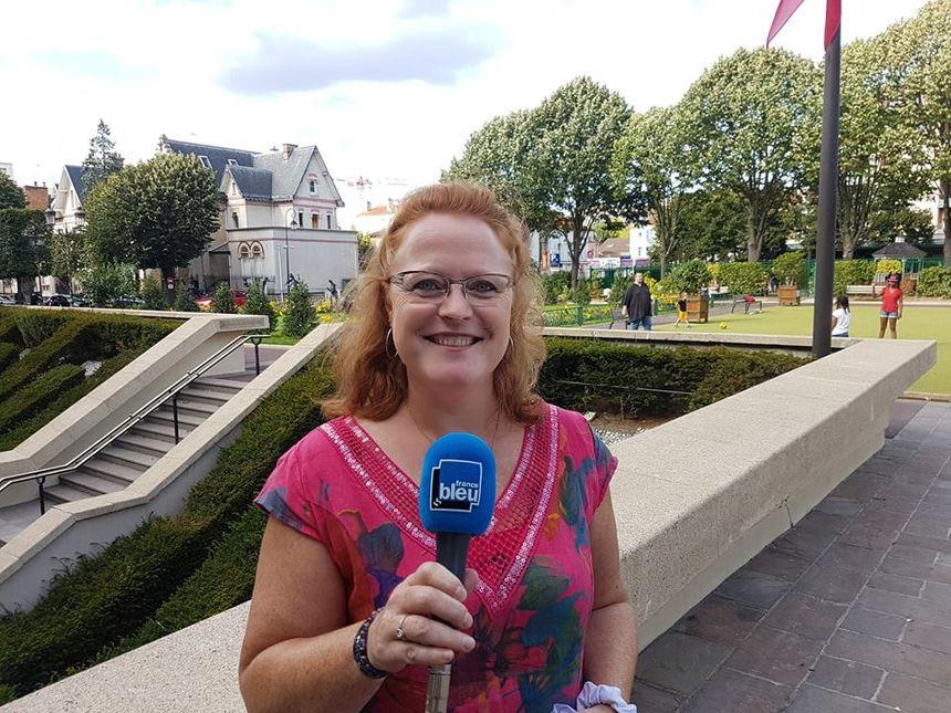 Sandrine Lecavelier Des Etangs, Présidente des Commerçants de Rueil-Malmaison.