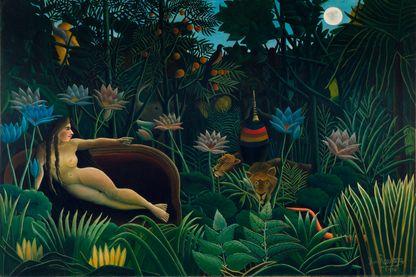 """""""Le Rêve"""" du Douanier Rousseau... où rien n'est vraiment réel !"""