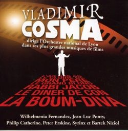 Vladimir cosma dirige l'orchestre national de lyon