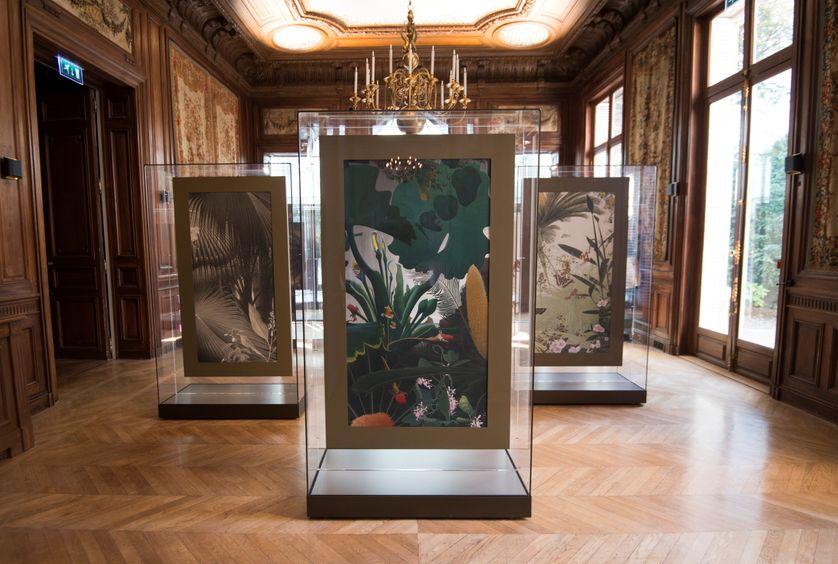 Vue de l'exposition Fukami à l'Hotel Salomon de Rotschild