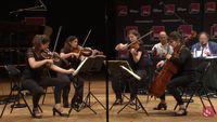 Concert Carrefour de Lodéon, avec le Quatuor Arod, Tanguy de Williencourt, Judith van Wanroij...