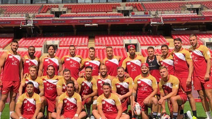 Les Dragons Catalans à Wembley