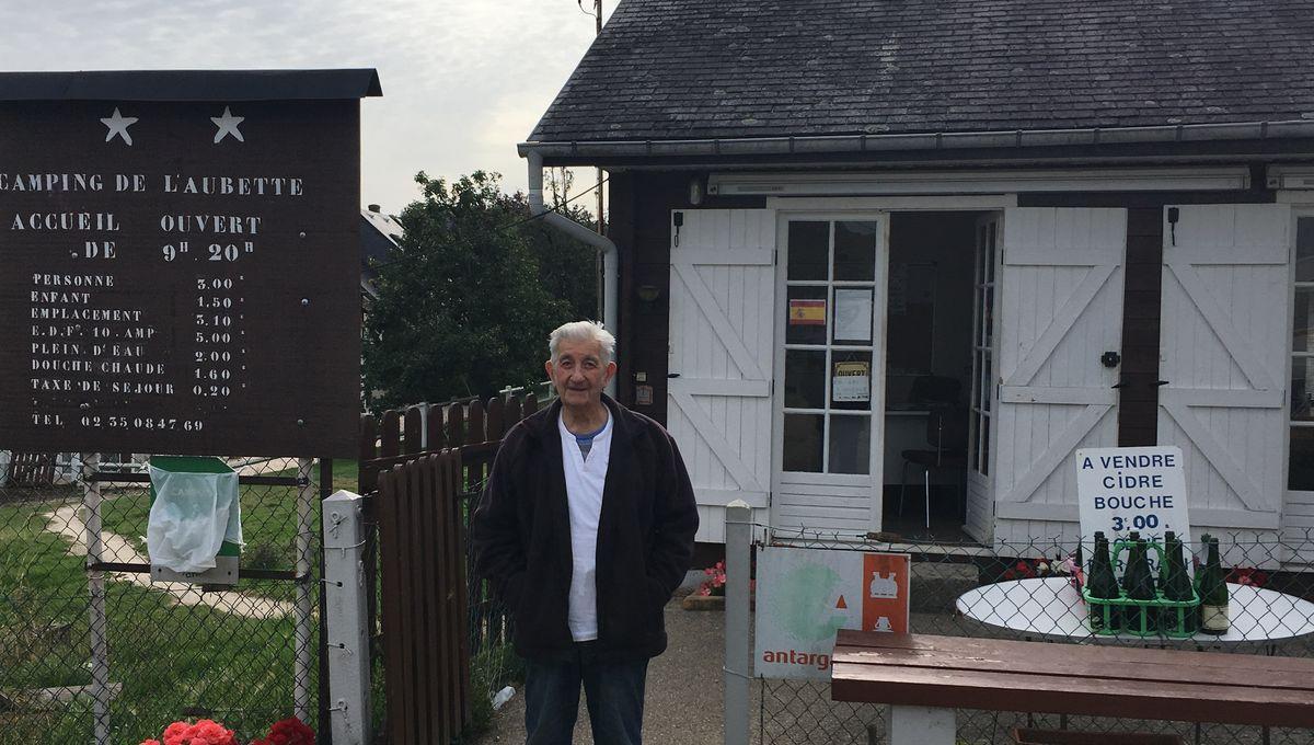 Je Prendrai Ma Retraite Quand On Me Mettra Dans Le Trou Lionel 90 Ans Gerant De Camping Pres De Rouen