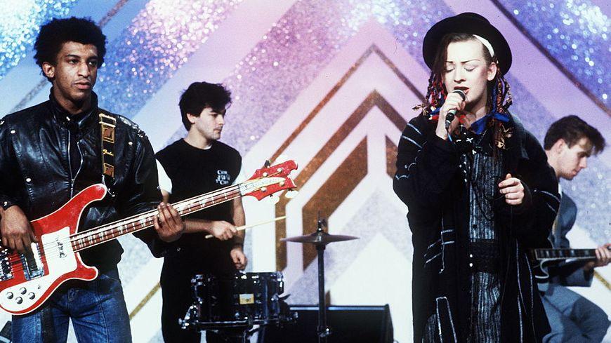 Au début de leur carrière, le groupe Culture Club.