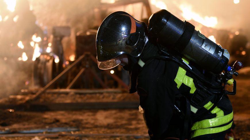 IMAGE D'ILLUSTRATION. Jusqu'à 50 pompiers ont été mobilisés pour éteindre l'incendie