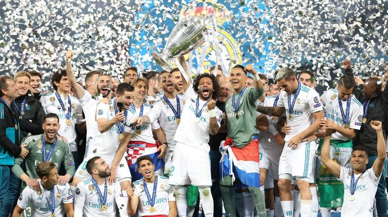 Le Real Madrid est le tenant du titre de la Ligue des Champions