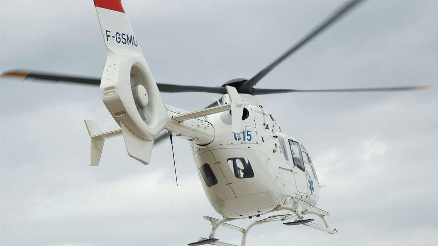 Les secours en provenance de Courchevel sont intervenus par hélicoptère