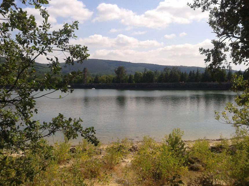 Le lac de Saint Férréol.