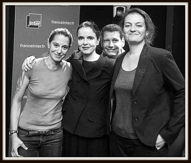 Les plasticiennes Agathon et Christine Aubert, invitées d'Amélie Nothomb - Le grand Atelier de Vincent Josse