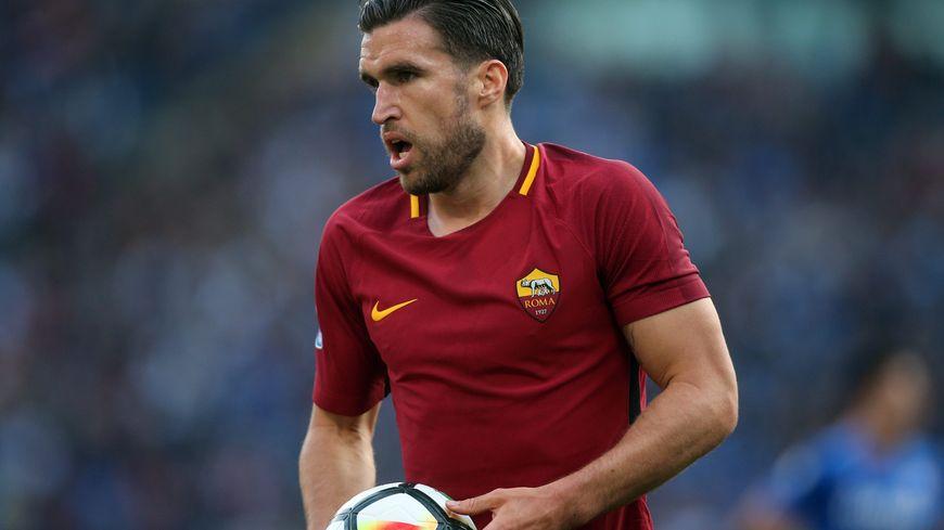 Kévin Strootman sous les couleurs de l'AS Roma