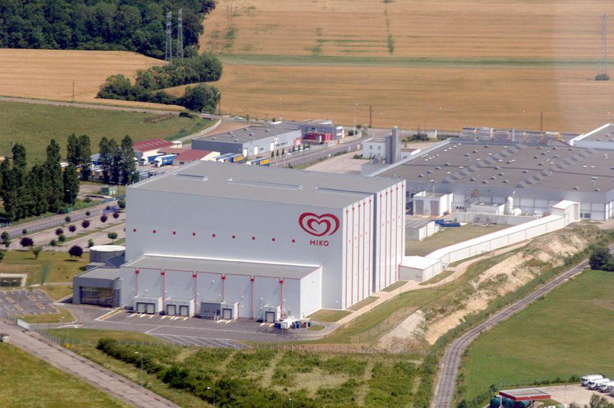 L'usine Miko de Saint-Dizier dans le Grand-Est