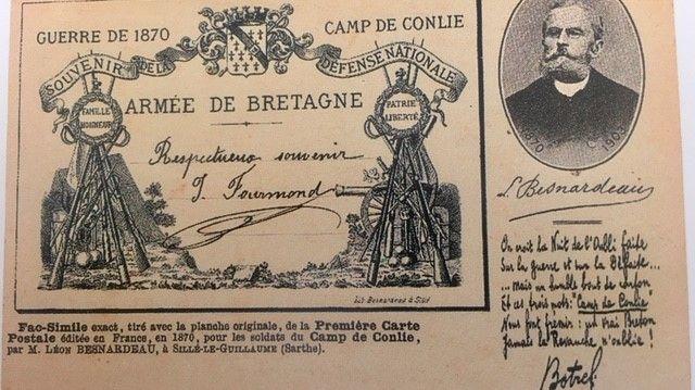 Carte postale de Léon Besnardeau