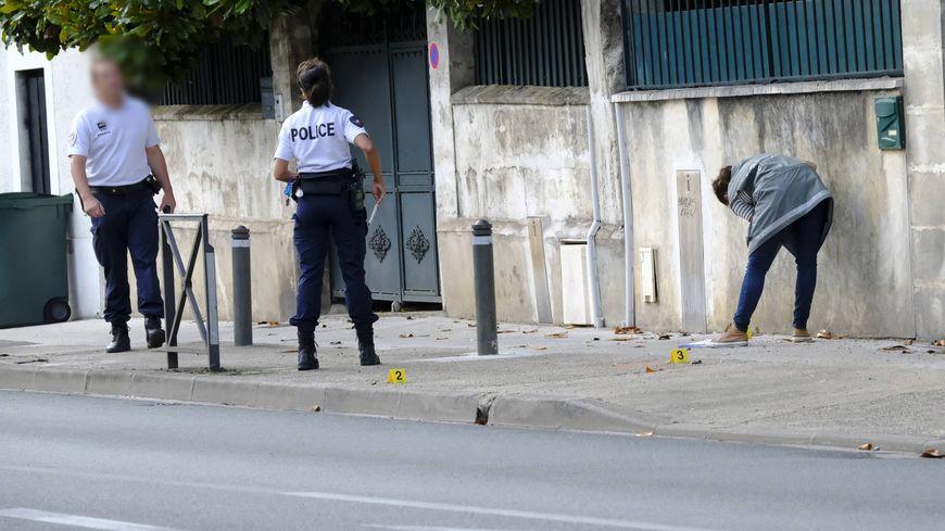 Le jeune homme était visiblement ivre à l'arrivée de la police