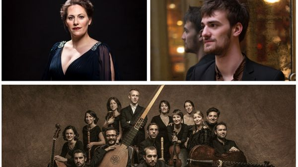Lucile Richardot, Sébastien Daucé et Robin Pharo aux Musicales de Normandie