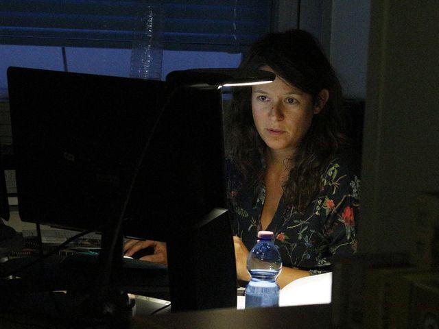 """Florence Paracuellos prépare son """"premier 8h"""""""