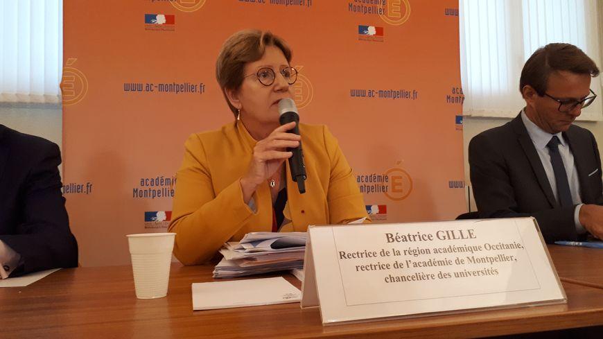 Béatrice Gille, rectrice de l'académie de Montpellier