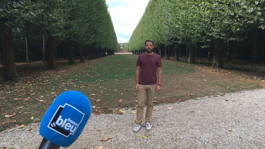 Jérôme Houvet, Responsable technique du Parc de Sceaux