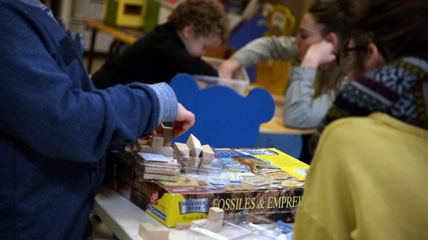 Enfants en baisse en maternelle à Paris