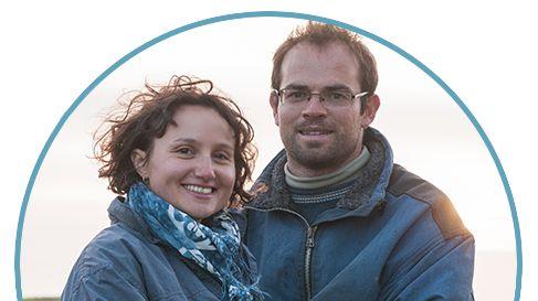 Amélie et Étienne, les locataires agriculteurs de Quéménès
