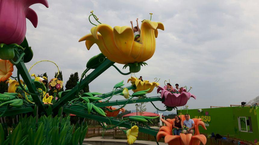 Des attractions pour petits et grands au parc Spirou