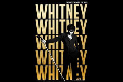 """Affiche de """"Whitney"""", un documentaire du réalisateur écossais Kevin Macdonald"""