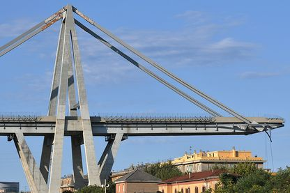 Le pont Morandi