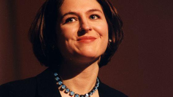 La pianiste Vanessa Wagner en février 1999, à l'occasion des 6e Victoires de la Musique Classique et du Jazz