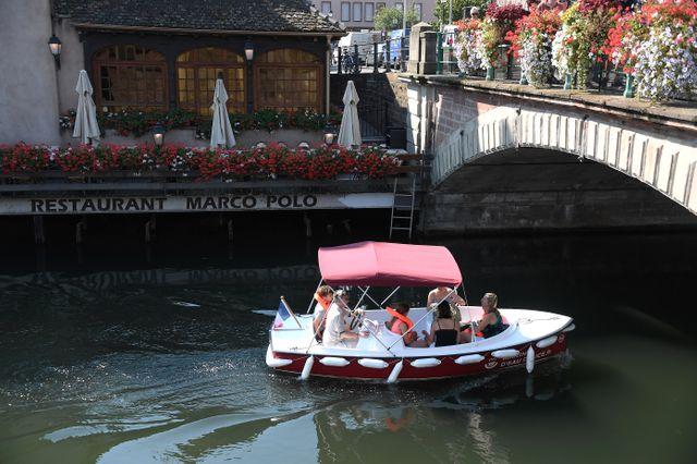 Les bateaux électriques sont arrivés également à Strasbourg