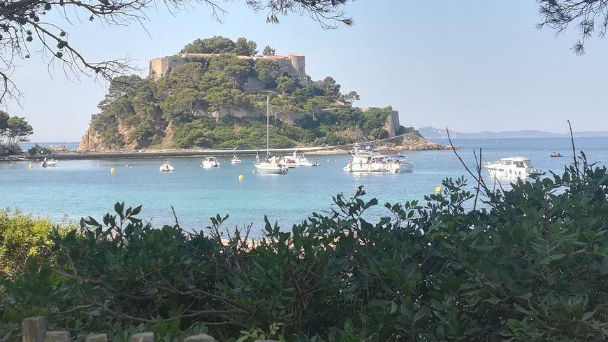 Le Fort de Brégançon, résidence présidentielle d'été