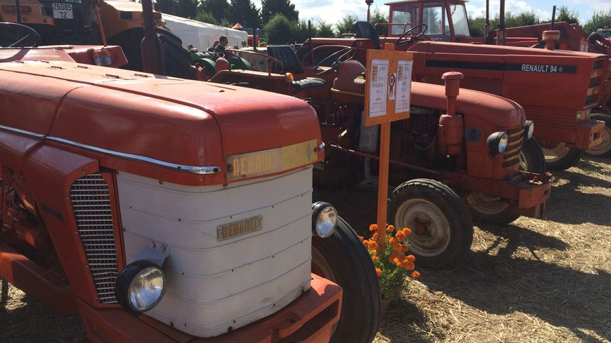 Près de 400 tracteurs Renault exposés tout ce week-end à Saint-Gervais en Belin