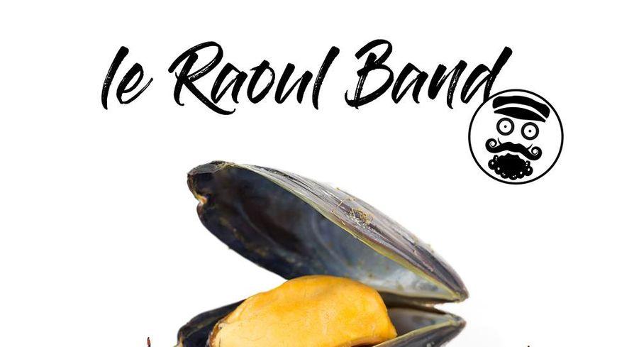 pochette du CD A la braderie par le Raoul Band