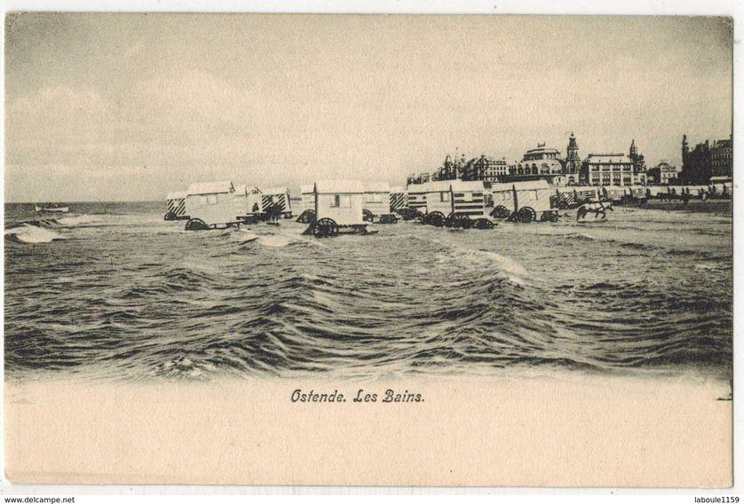 Ostende. Les bains.