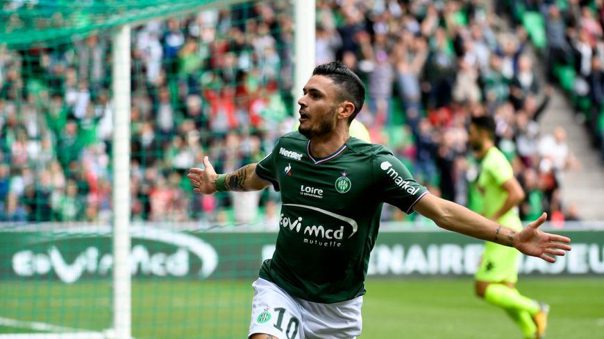 Rémy Cabella a signé l'AS Saint-Étienne