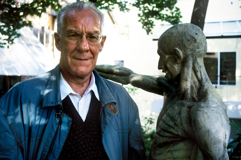 Alain Badiou en 1998