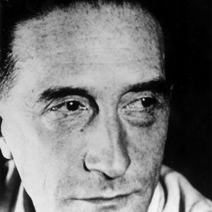 Marcel Duchamp en 1955.