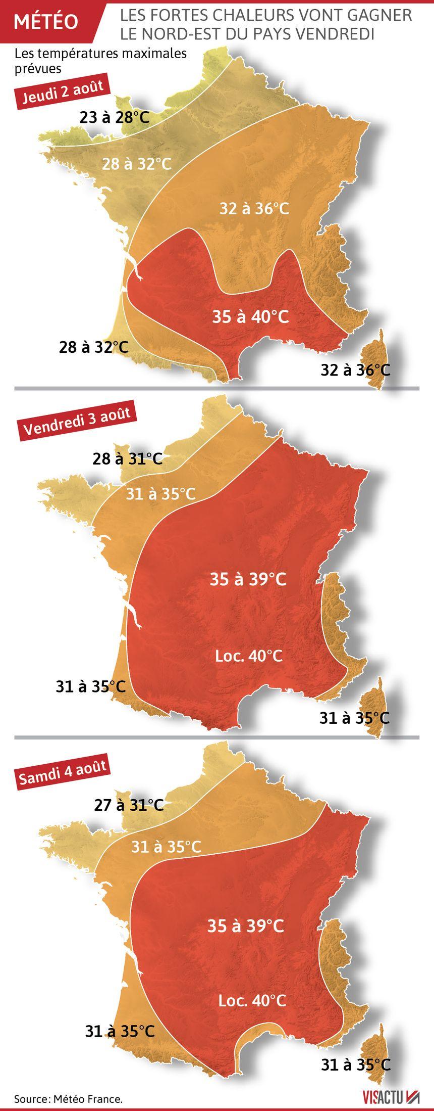 La chaleur s'installe sur toute la France.